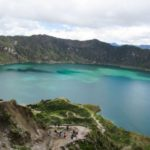 Inside Quilotoa, one of the most beautiful lagoons in the world